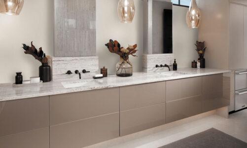 Modern kitchen and bathroom upgrades
