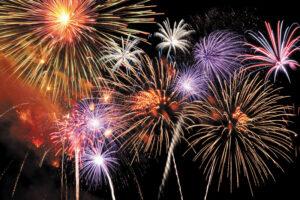 Scripps Mesa Fireworks