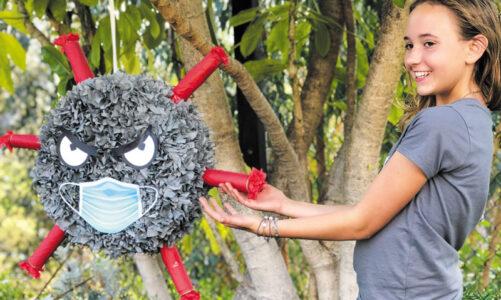 Custom piñatas: Take a swing at COVID-19