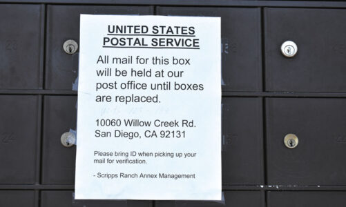 Scripps Ranch suffers mail thefts
