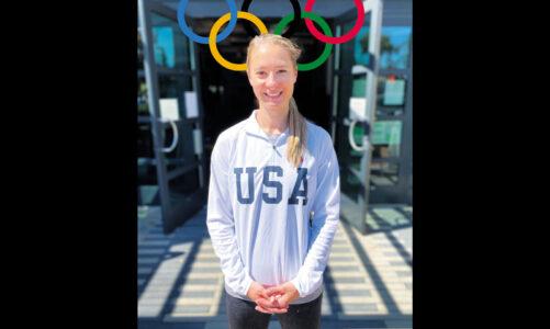 Weston heads to the Olympics