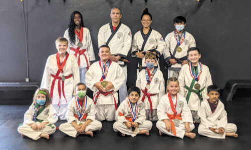Martial arts students place in competition